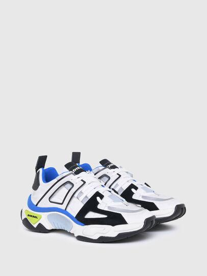 Diesel - S-KIPPER LOW TREK II, White/Black - Sneakers - Image 2