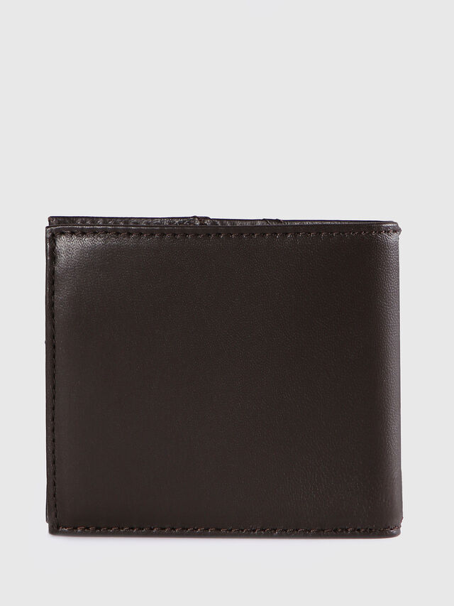 Diesel - HIRESH S, Dark Brown - Small Wallets - Image 2