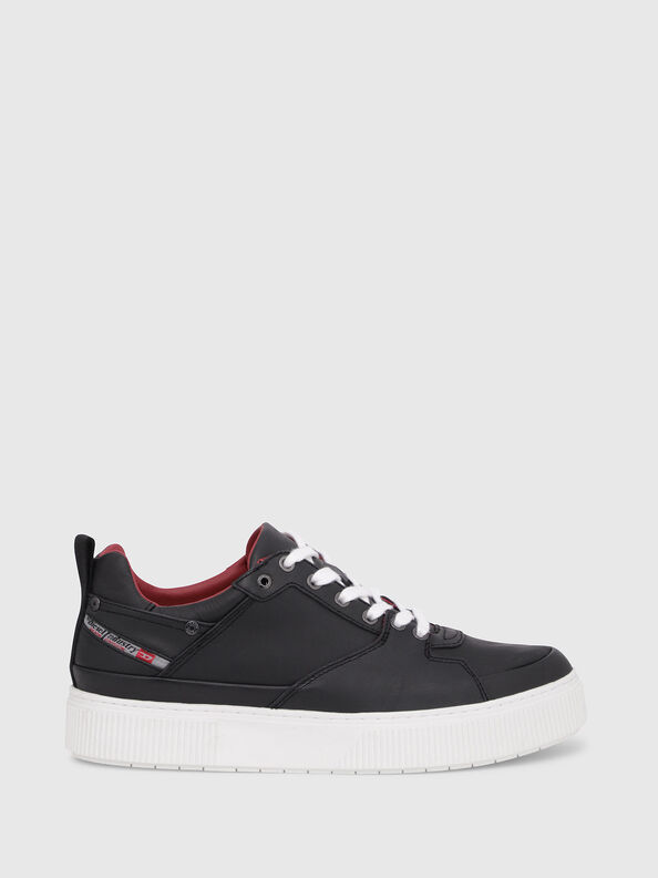 S-DANNY LC, Black/Red - Sneakers