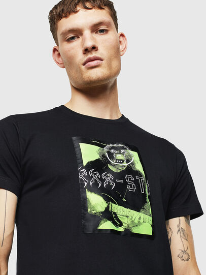 Diesel - T-DIEGO-J1, Black - T-Shirts - Image 3