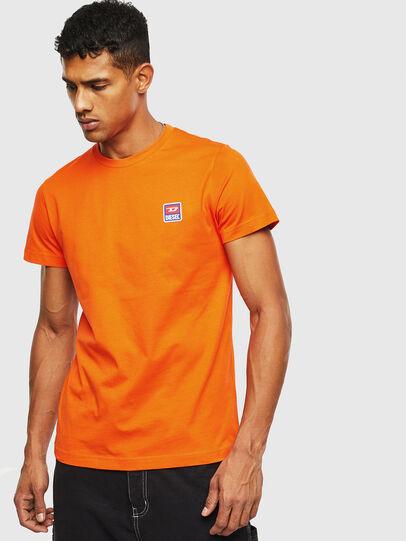 Diesel - T-DIEGO-DIV, Orange - T-Shirts - Image 1