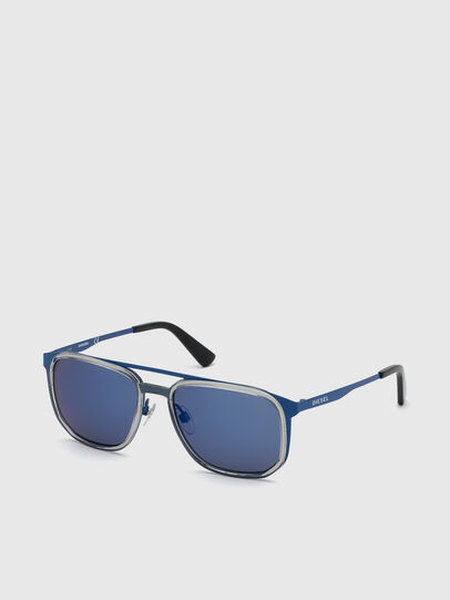 Diesel - DL0294, Blue - Sunglasses - Image 2