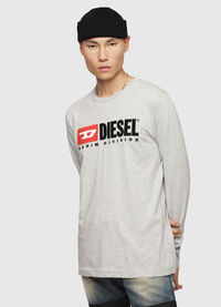 T-JUST-LS-DIVISION, Light Grey