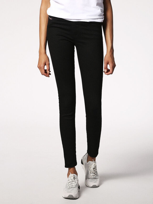SKINZEE 0813E, Black Jeans