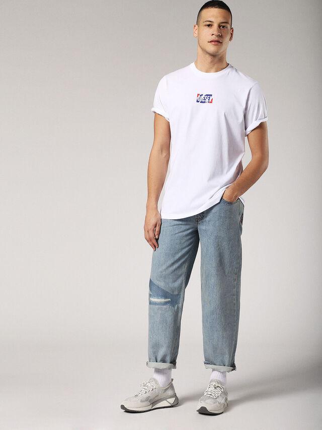 Diesel - T-JUST-ZC, White - T-Shirts - Image 4