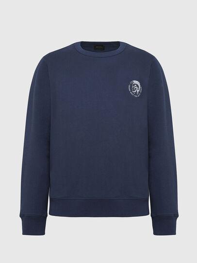 Diesel - UMLT-WILLY, Blue Marine - Sweaters - Image 1