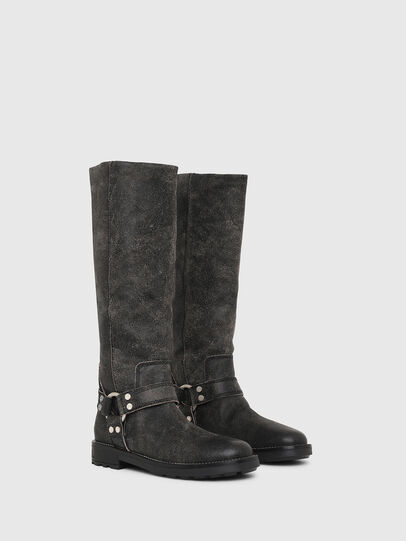 Diesel - D-THROUPER MB W, Black - Boots - Image 2