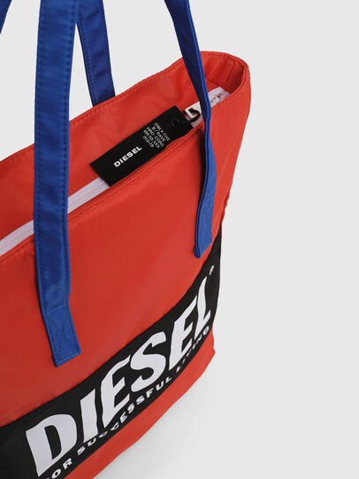 Diesel - BBAG-TOTE, Red - Beachwear accessories - Image 4
