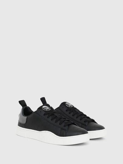 Diesel - S-CLEVER LOW LACE, Black/Silver - Sneakers - Image 2