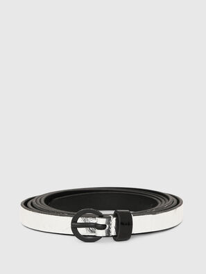 B-EVER, Silver - Belts
