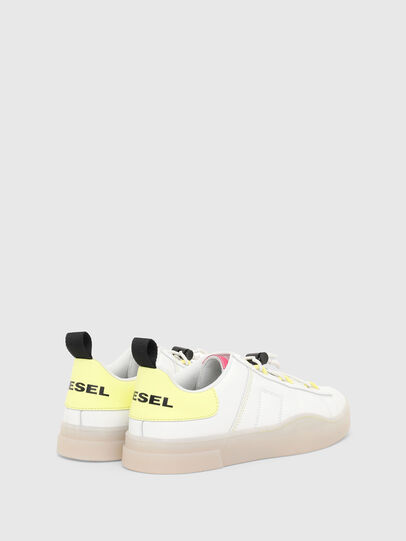 Diesel - S-CLEVER SO C, White/Yellow - Sneakers - Image 3