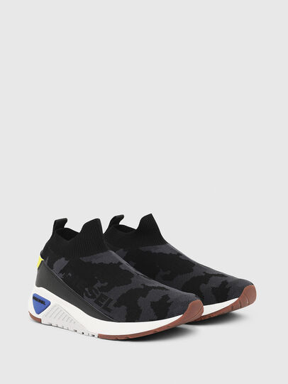 Diesel - S-KB SOCK QB, Black - Sneakers - Image 2