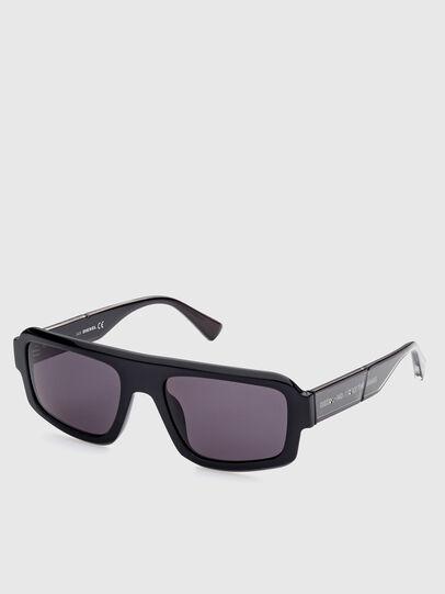 Diesel - DL0348, Black - Sunglasses - Image 2