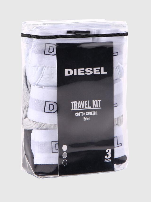 Diesel - UMBR-ANDRETHREEPACK, White - Briefs - Image 2