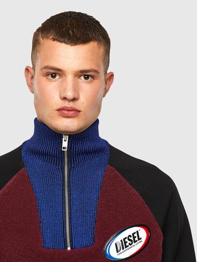 Diesel - K-PHIL, Black/Red - Knitwear - Image 3