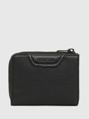 L-12 ZIP, Black - Zip-Round Wallets