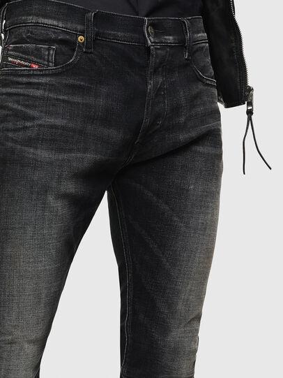 Diesel - Tepphar 0098B, Black/Dark grey - Jeans - Image 3