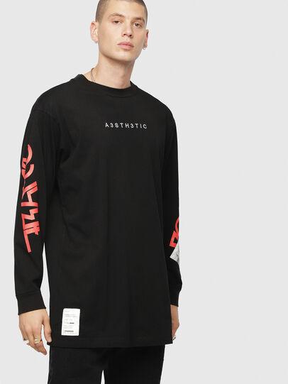 Diesel - T-LUCAS-LS-YB,  - T-Shirts - Image 1