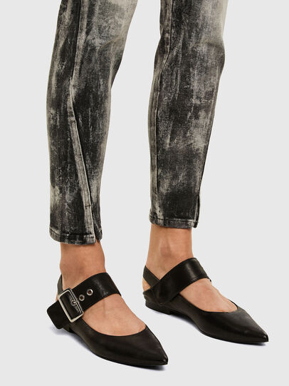 Diesel - D-Jevel 009FG, Light Grey - Jeans - Image 3