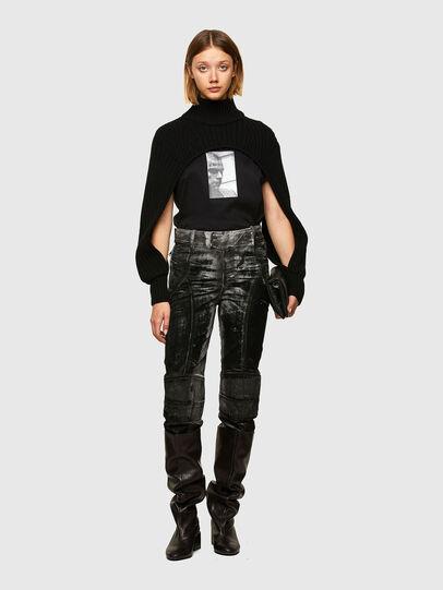 Diesel - M-BENAZIR, Black - Knitwear - Image 5