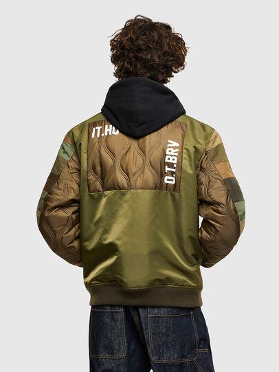 Diesel - J-UPPER, Olive Green - Jackets - Image 2