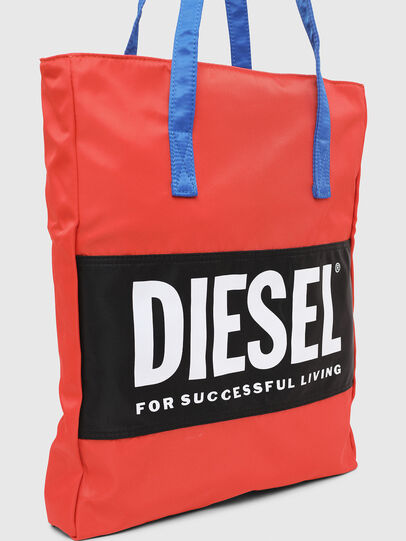 Diesel - BBAG-TOTE, Red - Beachwear accessories - Image 5