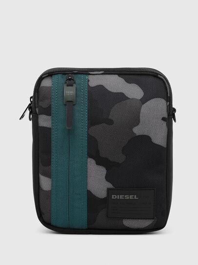 Diesel - ODERZO Z, Blue/Grey - Crossbody Bags - Image 1