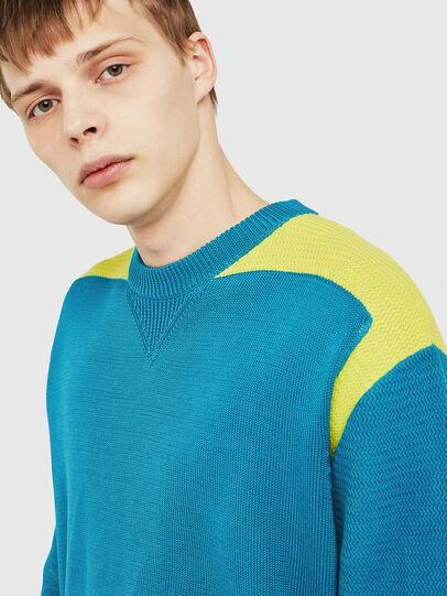 Diesel - K-MELT, Azure - Knitwear - Image 3