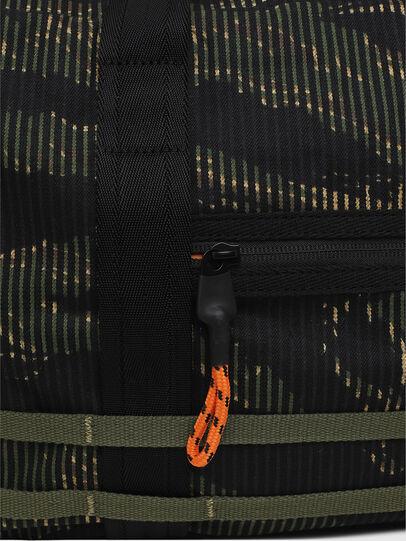 Diesel - M-CAGE DUFFLE M, Black/Green - Travel Bags - Image 5