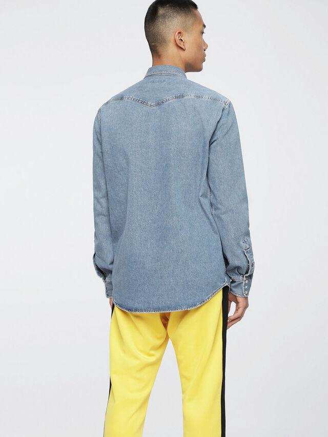 Diesel - D-ROOKE, Blue Jeans - Denim Shirts - Image 2