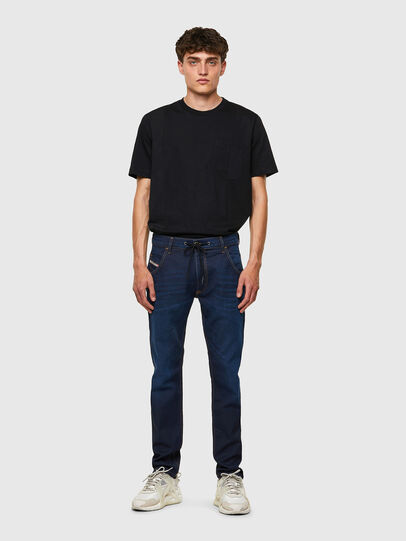 Diesel - Krooley JoggJeans® Z69VZ, Dark Blue - Jeans - Image 5