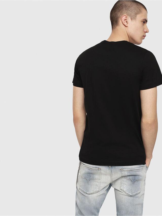 Diesel - T-DIEGO-C1, Black - T-Shirts - Image 2