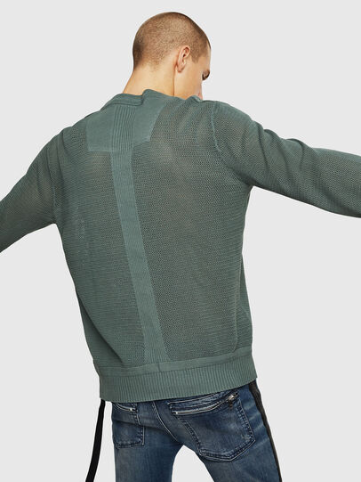 Diesel - K-RIO, Olive Green - Knitwear - Image 2