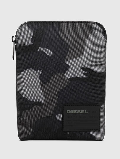 Diesel - F-DISCOVER CROSS, Blue/Grey - Crossbody Bags - Image 1