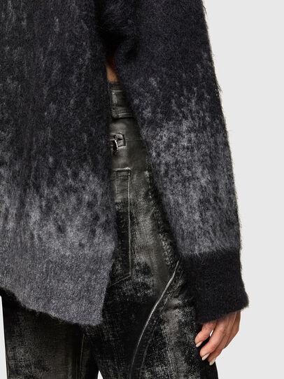 Diesel - M-BRONJA, Black/Red - Knitwear - Image 4