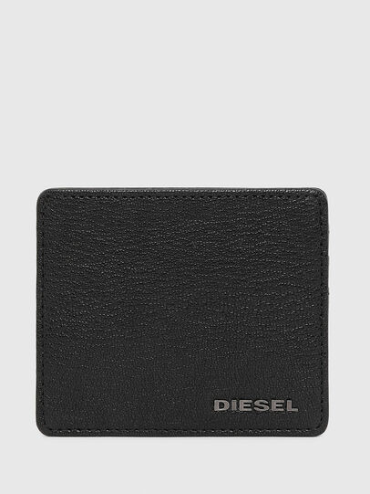 Diesel - JOHNAS I, Black Leather - Card cases - Image 1