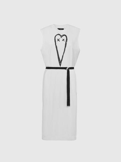 Diesel - D-FAIRY, White - Dresses - Image 1