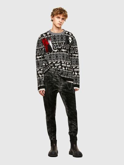 Diesel - TYPE-2022-NE, Black/Dark grey - Jeans - Image 6