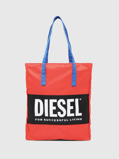 Diesel - BBAG-TOTE, Red - Beachwear accessories - Image 2