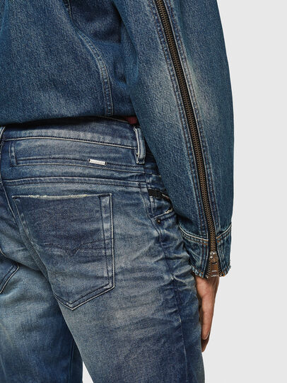 Diesel - D-Bazer 0090D, Medium blue - Jeans - Image 5