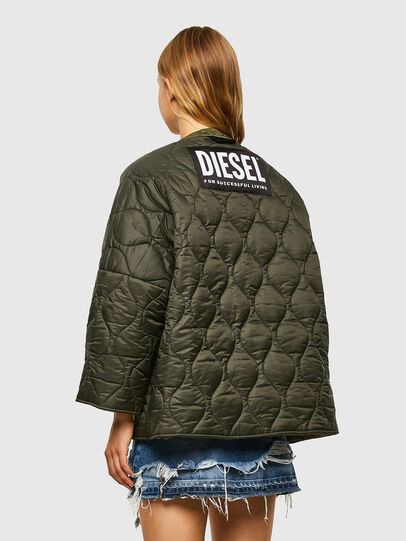Diesel - W-FLORES, Military Green - Winter Jackets - Image 5