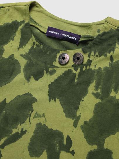 Diesel - PR-TS01, Green - T-Shirts - Image 3
