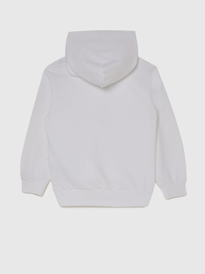 Diesel - SGIRKHOODX5 OVER, White - Sweaters - Image 2