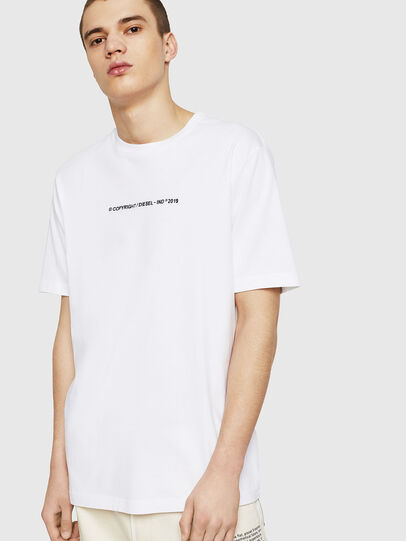 Diesel - T-JUST-COPY, White - T-Shirts - Image 1