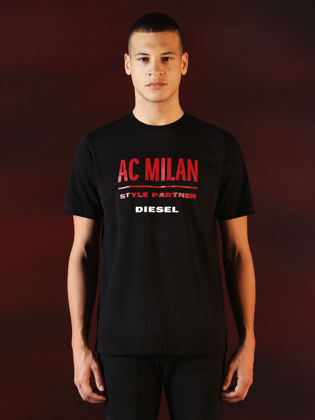 Diesel - DVL-TSHIRT-PRINT-SPECIAL COLLECTION, Black - T-Shirts - Image 2