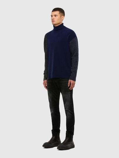 Diesel - K-MEL, Dark Blue - Knitwear - Image 5
