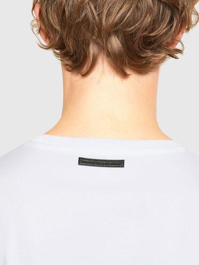 Diesel - T-IEGO, White - T-Shirts - Image 4