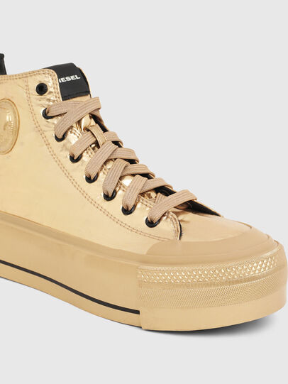 Diesel - S-ASTICO MC WEDGE, Gold - Sneakers - Image 5