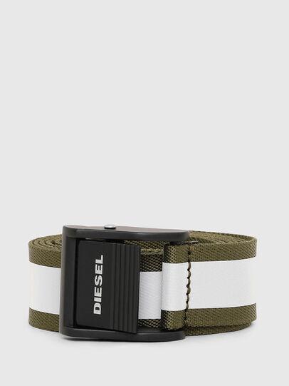 Diesel - B-FIRE, Olive Green - Belts - Image 1