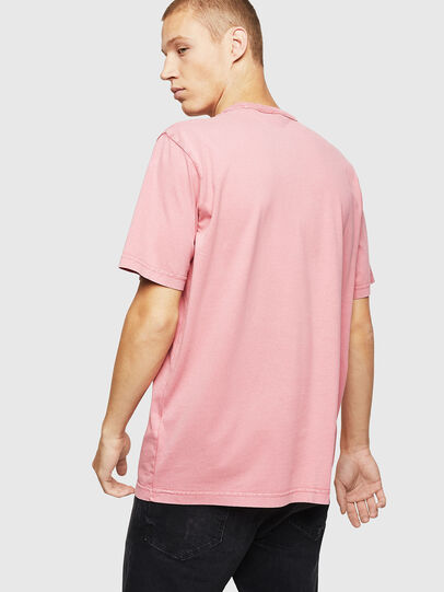 Diesel - T-JUST-B2, Pink - T-Shirts - Image 2